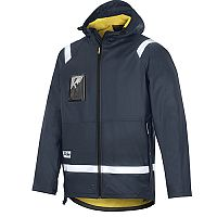 Snickers 8200 Rain Jacket PU Navy Regular