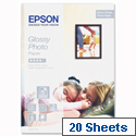 Epson S042178 A4 Glossy Photo Paper 20 Sheets