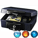 Sentry Fire-Safe Waterproof Chest 30min Fire Protection 4.9 Litre 7.7kg W362xD330xH156mm