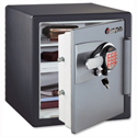 Sentry Fire-Safe Water-Resistant Office Safe 2 Hour Fire Protection 33.6L 62.1kg W415xD491xH453mm