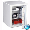 Phoenix Fortress White Fortress High Security Burglary Safe 43L