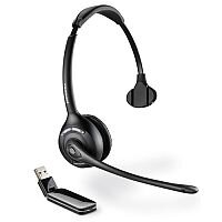 Plantronics W410A Savi Monaural Headset Single Earpiece One-Touch Call 	DECT