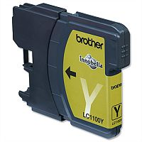 Brother LC-1100Y Yellow Ink Cartridge LC1100Y