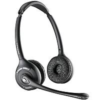 Plantronics CS520/A Over the Head Binaural Wireless DECT Headset EMEA UK & EURO