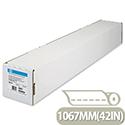 HP C6567B Coated Inkjet Plotter Paper 1067mm x 45.7m Roll 90gsm