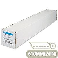 HP Universal Coated Plotter Paper Printer 95gsm Matte 610mmx45.7m