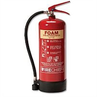 IVG Fire Chief Foam 6Litres Fire Extinguisher for Class AB Guardian