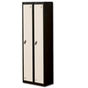 1 Door Locker Nest of 2 Black White Trexus