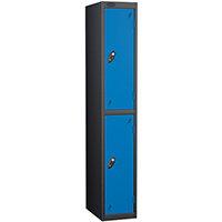 Probe 2 Door Locker ACTIVECOAT W305xD305xH1780mm Black Body Blue Doors