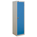 Uniform Locker Silver Blue Trexus