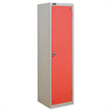Uniform Locker Silver Red Trexus