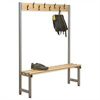 Single Side Bench with Hooks 2000x350 Trexus