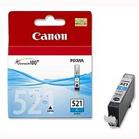 Canon CLI-521 C ( 2934B001 ) Cyan Ink Cartridge Original - for PIXMA iP3600, iP4700, MP540, MP550, MP560, MP620, MP630, MP640, MP980, MP990, MX860, MX870