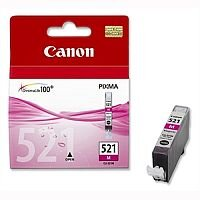 Canon CLI-521 M ( 2935B001 ) Magenta Ink Cartridge Original - for PIXMA iP3600, iP4700, MP540, MP550, MP560, MP620, MP630, MP640, MP980, MP990, MX860, MX870