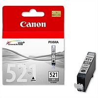 Canon CLI-521 GY ( 2937B001 ) Grey Ink Cartridge Original - for PIXMA MP980, MP990