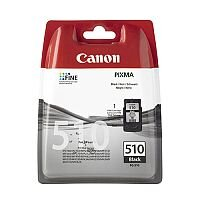 Canon PG-510 BK ( 2970B001 ) Black Ink Cartridge Original - for PIXMA MP230, MP237, MP252, MP258, MP270, MP280, MP282, MP499, MX350, MX360, MX410, MX420