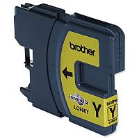 Brother LC980Y Yellow Ink Cartridge