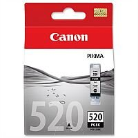Canon PGI-520 BK ( 2932B001 ) Black Ink Cartridge Original - for PIXMA iP3600, iP4700, MP540, MP550, MP560, MP620, MP630, MP640, MP980, MP990, MX860, MX870