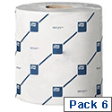 Tork Reflex Wiper White Cleaning Roll 429 Sheets 200 x3 50mm 150m Roll Pack 6