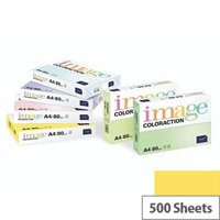 Image Coloraction Canary Deep Yellow A4 Paper 80gsm Pack of 500
