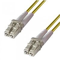 Group Gear 5M Lc-Lc Sm Duplex Fibre Leads Yellow 9-DX-LC-LC-5-YW