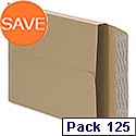 C4 Gusset Envelopes Manilla Peel and Seal Pack 125 5 Star