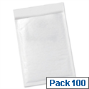 Bubble Bags Peel and Seal 5 Star No.1 White 170x245mm (Pack of 100)