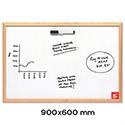 Economy Whiteboard 900 x 600mm 5 Star