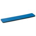 Wrist Rest with 6mm Rubber Sponge Backing Blue 5 Star