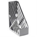 Foolscap Magazine Rack File Grey 5 Star
