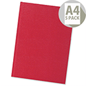 5 Star A4 Manuscript Book Pack 5 Casebound 192 Pages
