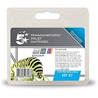 HP Compatible 57 Colour Ink Cartridge C6657AE 5 Star