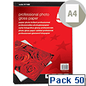 A4 Glossy Heavyweight Photo Paper Inkjet 265gsm 50 Sheets 5 Star