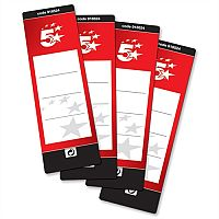 Lever Arch File Spine Labels Self Adhesive Pack 10 5 Star Office