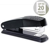 Metal Stapler Half Strip Black-Grey Capacity 20 Sheets 5 Star