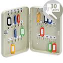 5 Star Lockable Steel Key Safe Cabinet Holds 30 Keys