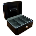 Cash Box 12 Inch W217xD300xH101mm Anthracite Black 5 Star