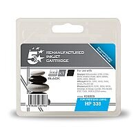 HP 338 Compatible Black Ink Cartridge C8765EE 5 Star