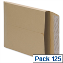 Gusset Envelopes Manilla 350 x 248 Peel and Seal Pack 125 5 Star
