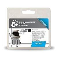 HP 337 Compatible Black Ink Cartridge C9364EE 5 Star