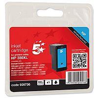 HP Compatible 350XL Black Ink Cartridge CB336EE 5 Star