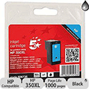 HP Compatible 350XL Black Ink Cartridge CB336EE 5 Star