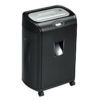 5 Star Strip Cut Paper Shredder P-2 Security Level - With 20 Litre Bin - Provides conventional everyday security by shredding documents into unreadable strips. Also shreds credit cards and staples.