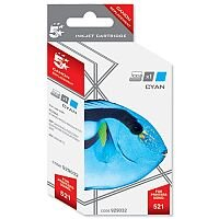 Canon CLI-521 C ( 2934B001 Equivalent ) Cyan Ink Cartridge Compatible/Remanufactured by 5 Star