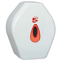 Jumbo Toilet Roll Dispenser Small 5 Star