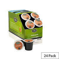 Green Mountain Coffee French Vanilla Pack 24 K-Cup pods for Keurig K140 & K150 93-07014