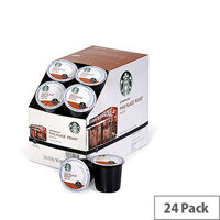 Starbucks Pike Place Roast Pack 24 K-Cup pods for Keurig K140 & K150 93-07019