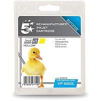 HP Compatible 940XL Yellow Inkjet Cartridge C4909AE 5 Star
