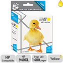 HP Compatible 940XL Yellow Inkjet Cartridge C4909AE 5 Star
