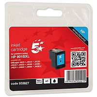 HP Compatible 901XL Black Inkjet Cartridge CC654AE 5 Star